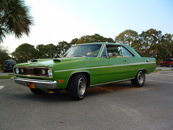 1971 PLYMOUTH SCAMP 2 DOOR COUPE - Front 3/4 - 22820