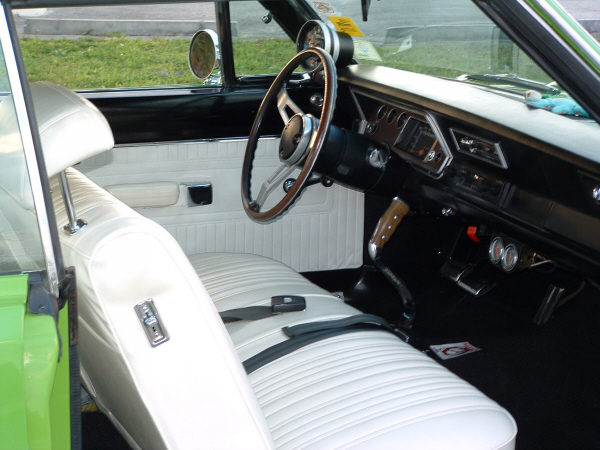 1971 PLYMOUTH SCAMP 2 DOOR COUPE - Interior - 22820