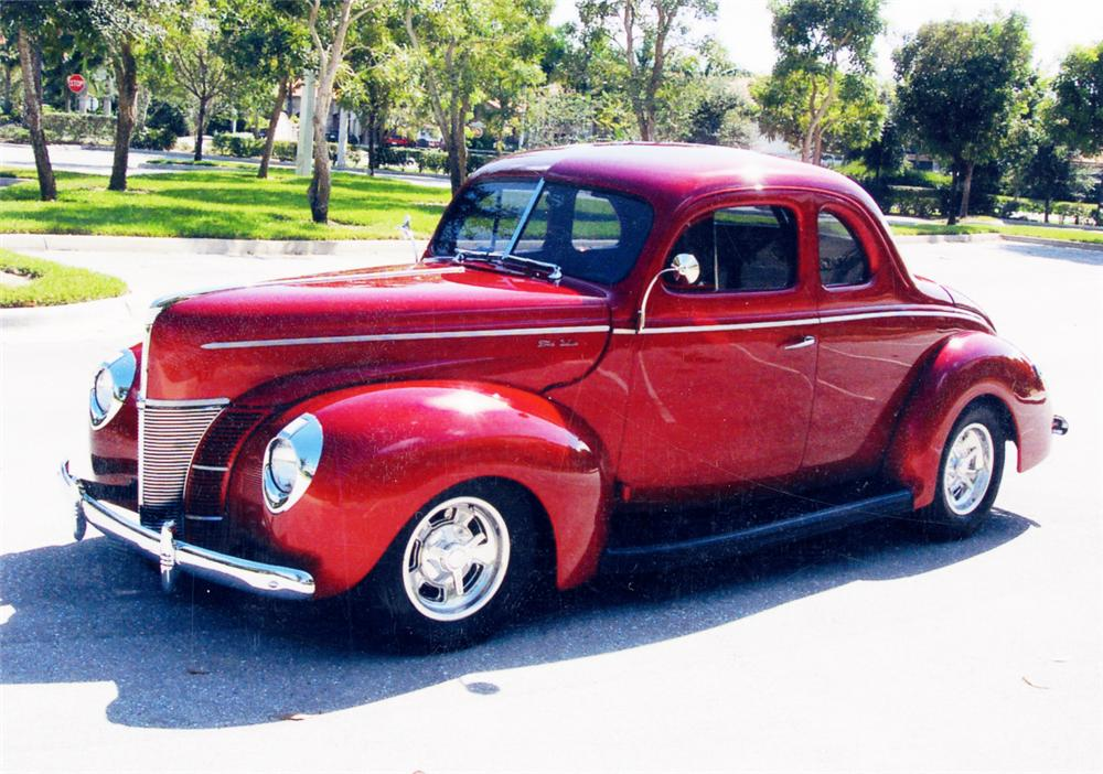 1940 ford c deluxe 2 door coupe 22827 for 1940 ford two door sedan