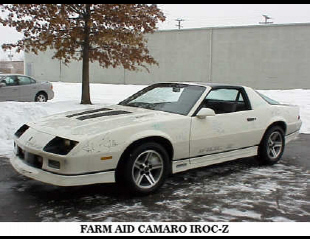 1985 CHEVROLET CAMARO IROC Z/28 FROM GM COLLECTION -  - 22829