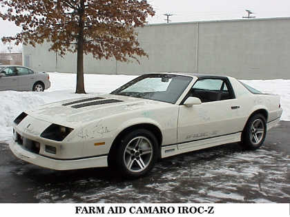 1985 CHEVROLET CAMARO IROC Z/28 FROM GM COLLECTION - Front 3/4 - 22829