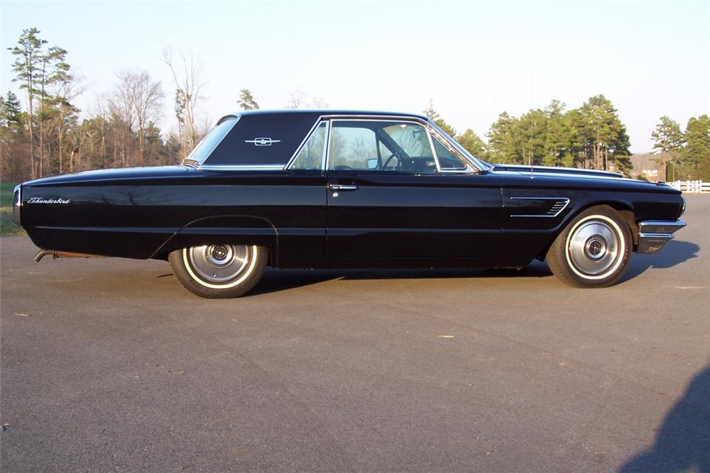 1965 FORD THUNDERBIRD 2 DOOR - Side Profile - 22830