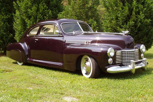 1941 CADILLAC SERIES 61 RESTO-MOD - Side Profile - 22842