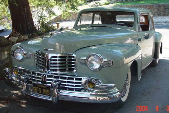 1946 LINCOLN CONTINENTAL 2 DOOR COUPE - Front 3/4 - 22844
