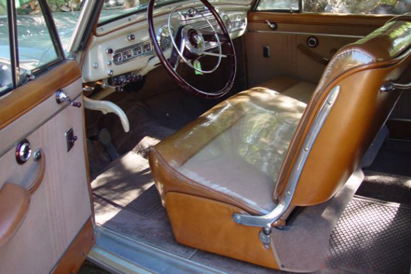 1946 LINCOLN CONTINENTAL 2 DOOR COUPE - Interior - 22844