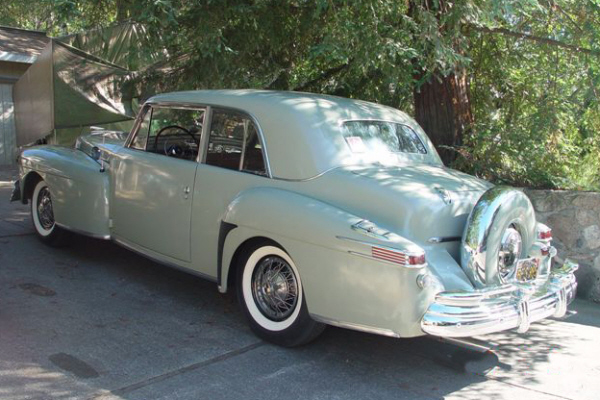 1946 LINCOLN CONTINENTAL 2 DOOR COUPE - Rear 3/4 - 22844