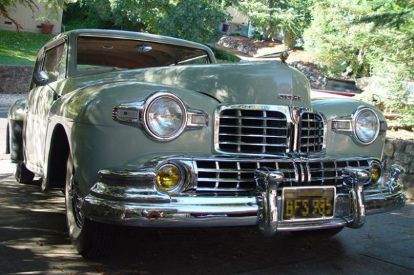 1946 LINCOLN CONTINENTAL 2 DOOR COUPE - Side Profile - 22844