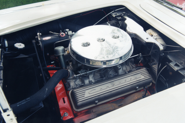 1959 CHEVROLET CORVETTE CONVERTIBLE - Engine - 22849