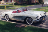 1959 CHEVROLET CORVETTE CONVERTIBLE -  - 22849