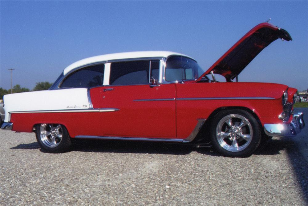 1955 Chevrolet Bel Air Custom 2 Door Post 22858