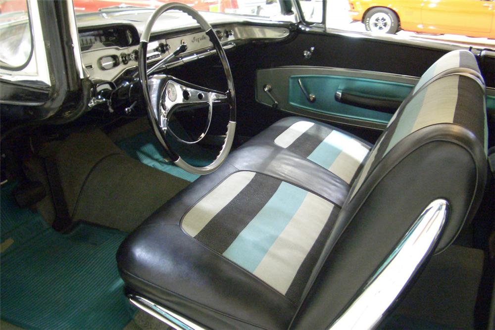1958 CHEVROLET IMPALA SS 2 DOOR COUPE - Interior - 22862