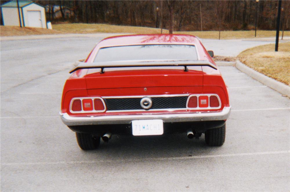 1973 FORD MUSTANG MACH 1 FASTBACK - Rear 3/4 - 22883