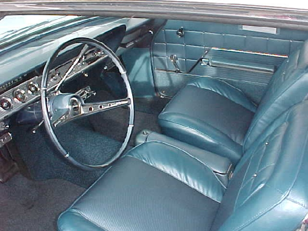 1962 CHEVROLET IMPALA SS COUPE - Interior - 22957