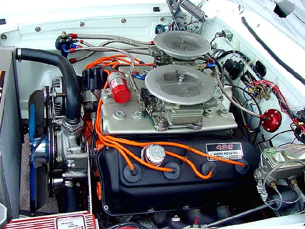 1965 PLYMOUTH BELVEDERE I UNKNOWN - Engine - 22958