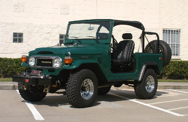 1978 TOYOTA LAND CRUISER FJ-40 JEEP - 22988