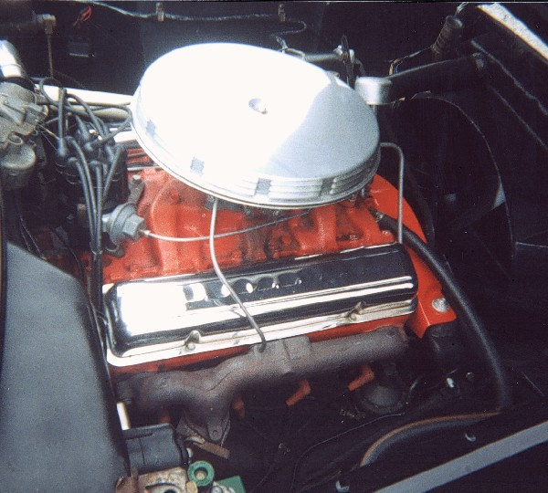 1955 CHEVROLET CORVETTE ROADSTER - Engine - 22990