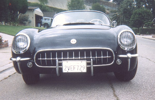 1955 CHEVROLET CORVETTE ROADSTER - Side Profile - 22990