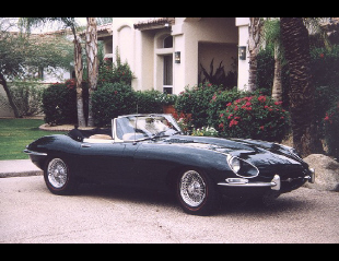 1968 JAGUAR E-TYPE ROADSTER -  - 22992