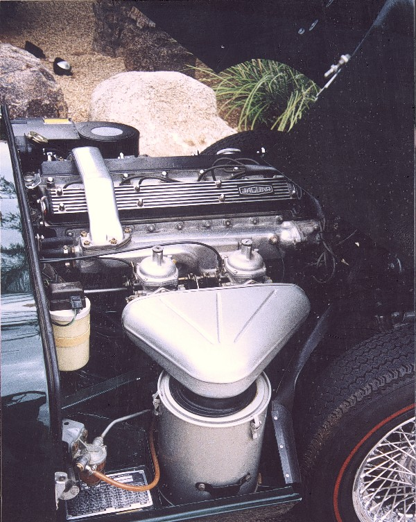 1968 JAGUAR E-TYPE ROADSTER - Engine - 22992