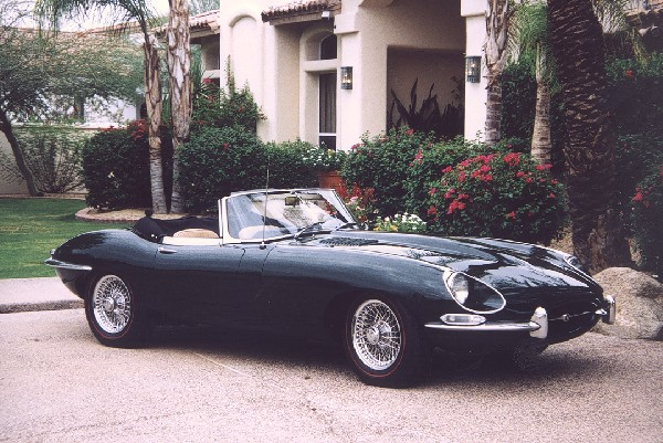 1968 JAGUAR E-TYPE ROADSTER - Front 3/4 - 22992