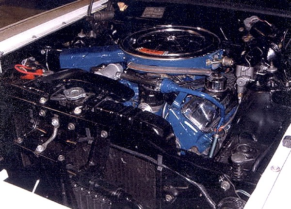 1969 FORD TALLADEGA COUPE - Engine - 23019