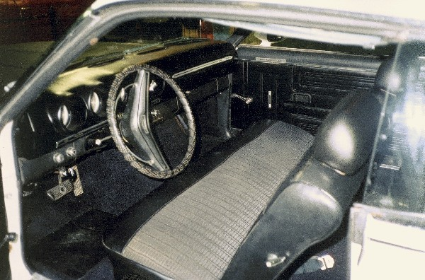 1969 FORD TALLADEGA COUPE - Interior - 23019