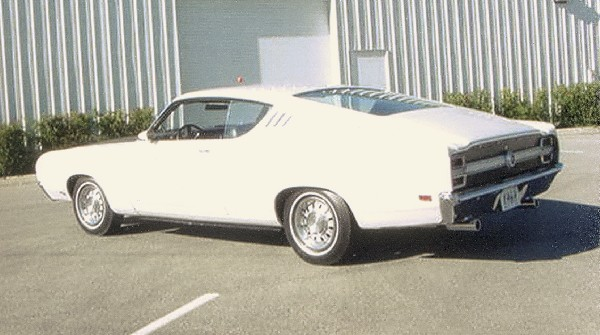 1969 FORD TALLADEGA COUPE - Rear 3/4 - 23019