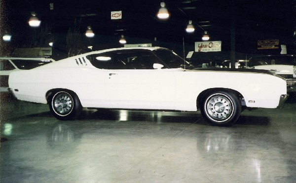 1969 FORD TALLADEGA COUPE - Side Profile - 23019