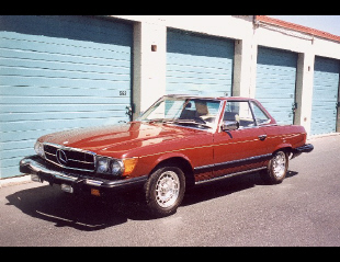 1980 MERCEDES-BENZ 450SL ROADSTER -  - 23020
