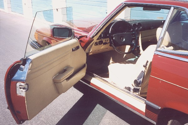 1980 MERCEDES-BENZ 450SL ROADSTER - Interior - 23020