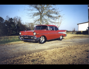 1957 CHEVROLET BEL AIR HARDTOP COUPE -  - 23024