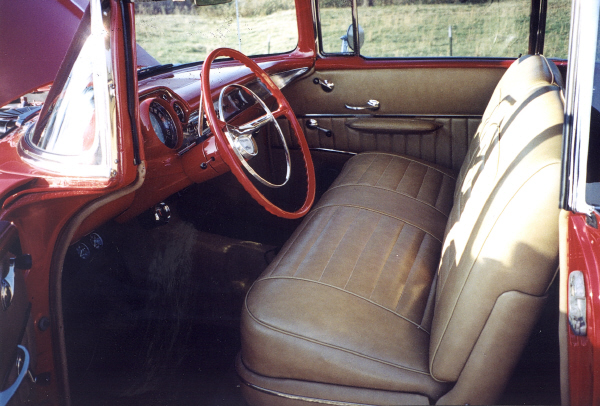 1957 CHEVROLET BEL AIR HARDTOP COUPE - Interior - 23024