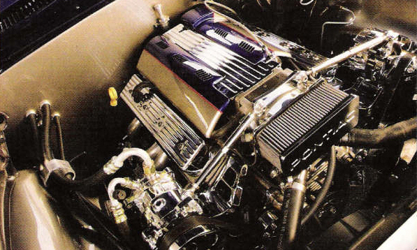 "1968 PONTIAC FIREBIRD ""G-MACHINE"" COUPE - Engine - 23033"