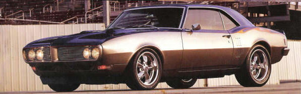 "1968 PONTIAC FIREBIRD ""G-MACHINE"" COUPE - Front 3/4 - 23033"