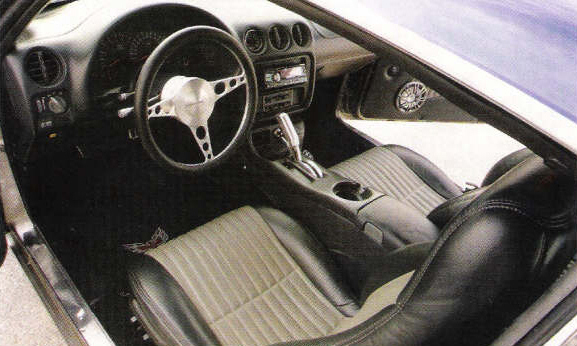 "1968 PONTIAC FIREBIRD ""G-MACHINE"" COUPE - Interior - 23033"