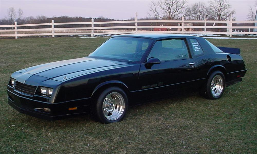 1987 chevrolet monte carlo 39 aero coupe 39 2 door hardtop 23035. Black Bedroom Furniture Sets. Home Design Ideas