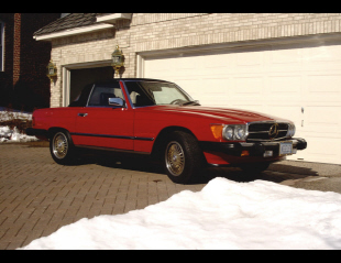 1986 MERCEDES-BENZ 560SL ROADSTER -  - 23041