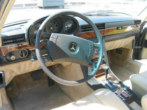 1978 MERCEDES-BENZ 6.9 450 SEL SEDAN - Interior - 23044