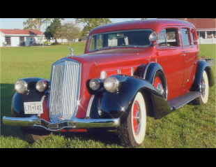 1936 PIERCE-ARROW 1601 CUB SEDAN -  - 23045