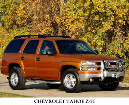 """2000 CHEVROLET TAHOE Z71 """"THE NORTH FACE"""" EDITI - Front 3/4 - 23050"""