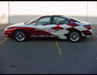 2001 OLDSMOBILE INDY 500 PACE CAR #3 FROM -  - 23051