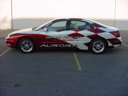 2001 OLDSMOBILE INDY 500 PACE CAR #3 FROM - Front 3/4 - 23051