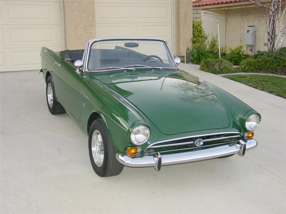 1967 ROOTS SUNBEAM TIGER MARK 1A - Front 3/4 - 23056