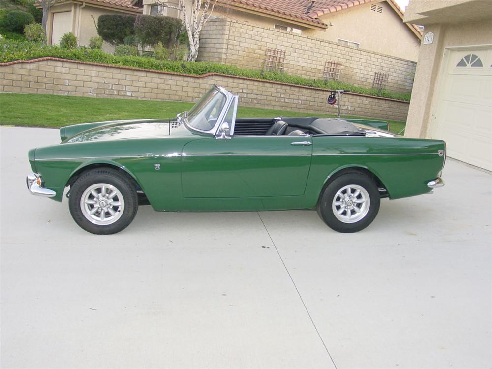 1967 ROOTS SUNBEAM TIGER MARK 1A - Side Profile - 23056