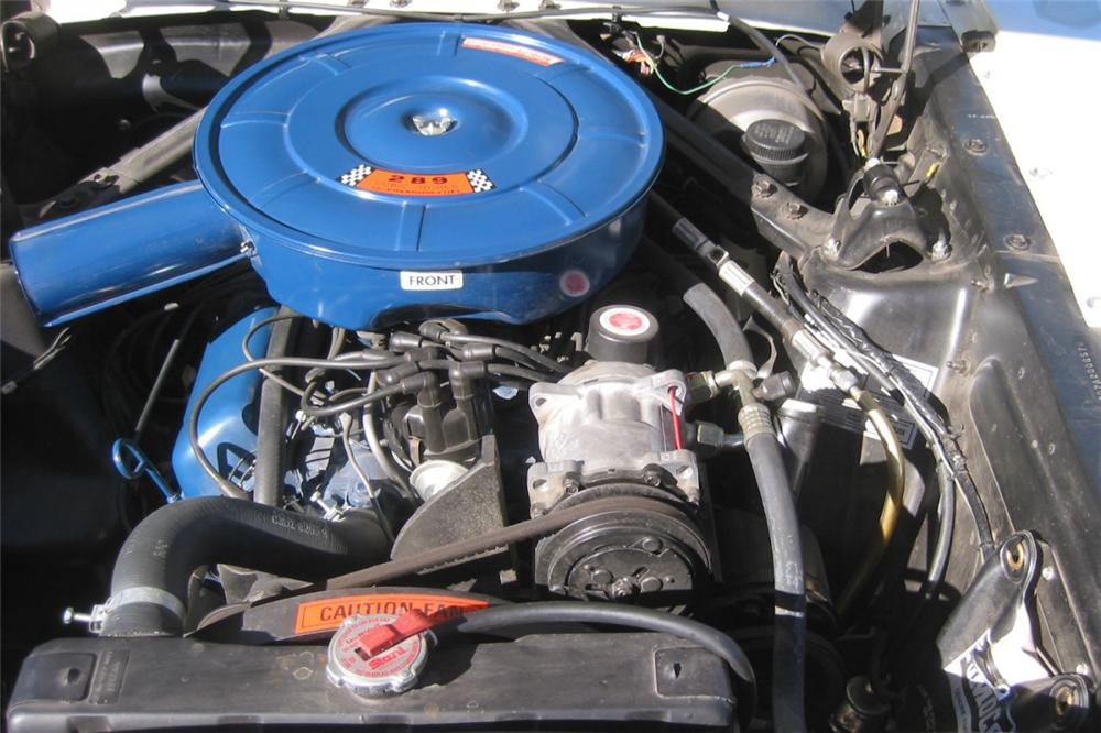 1966 FORD MUSTANG HARDTOP COUPE - Engine - 23067