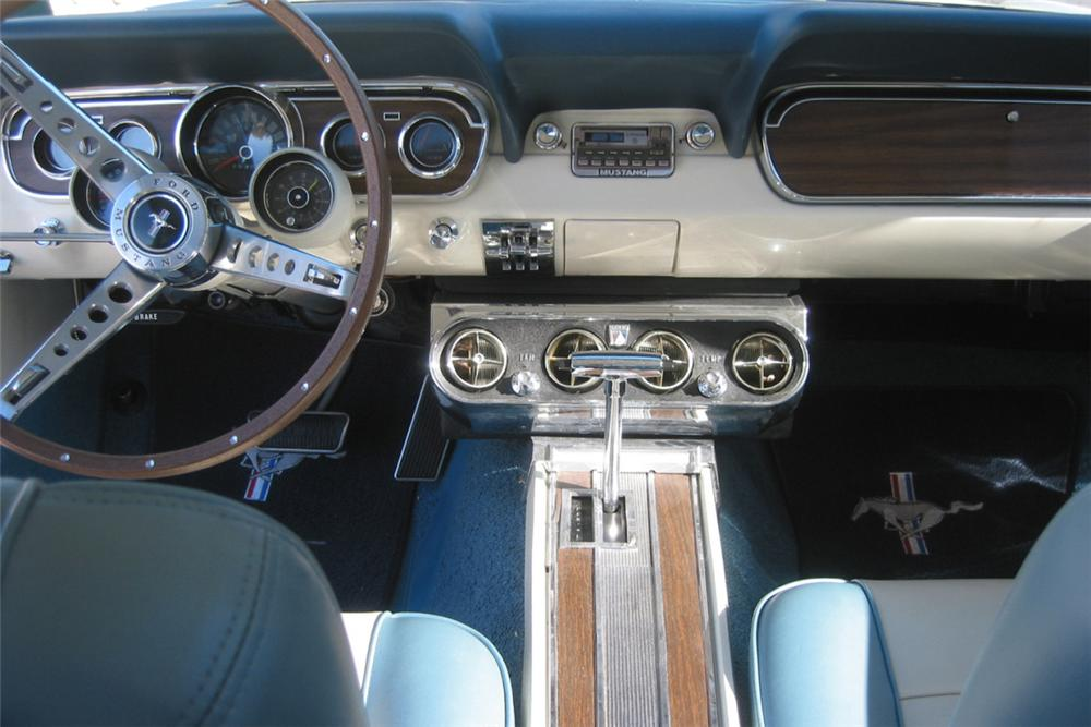 1966 FORD MUSTANG HARDTOP COUPE - Interior - 23067