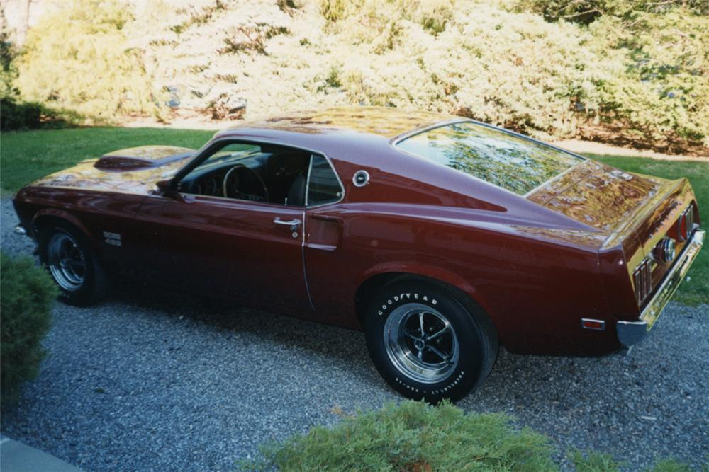 1969 FORD MUSTANG BOSS 429 FASTBACK - Front 3/4 - 23070