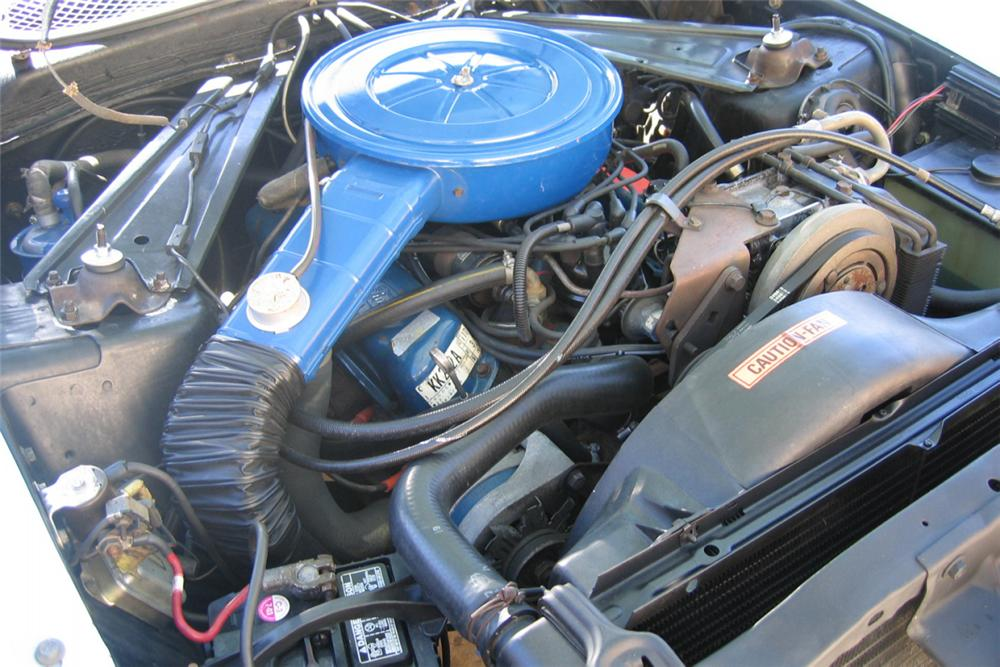 1973 FORD MUSTANG CONVERTIBLE - Engine - 23073