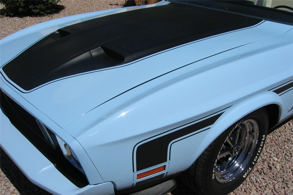 1973 FORD MUSTANG CONVERTIBLE - Side Profile - 23073