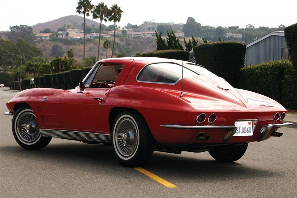 1963 CHEVROLET CORVETTE FI SPLIT WINDOW COUPE